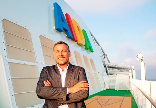 AIDA Cruises: Alexander Ewig is the new SVP Marketing