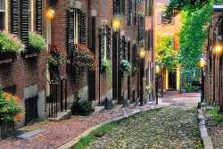Historische Innenstadt in Boston