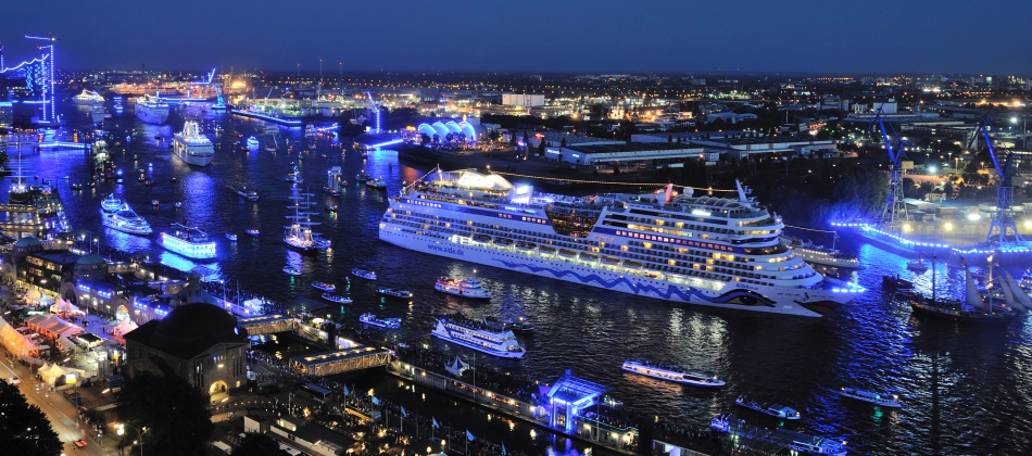AIDA Cruises neuer Premiumpartner der Hamburg Cruise Days