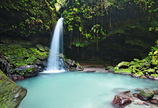 Emerald Pool auf Dominica