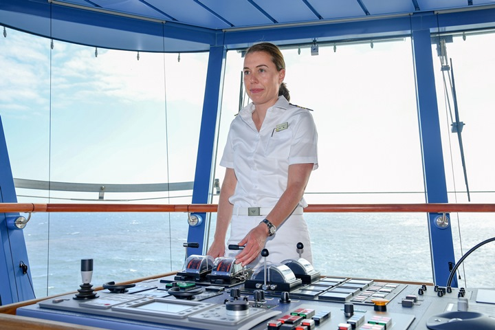 AIDA Cruises Appoints Germanys First Female Cruise Ship Captain - Cruise ship captains