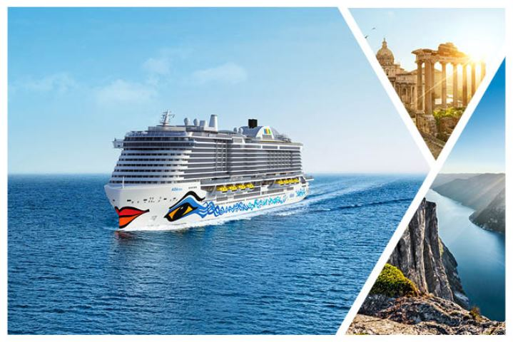 AIDA To Presents My Hotel Shows Me The World Its New Brochure - April cruises