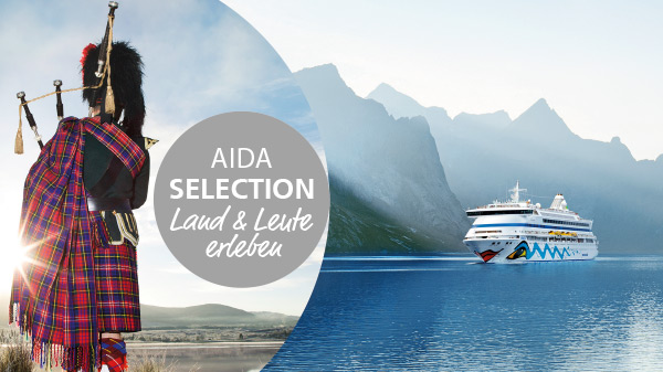 Besonderes Highlight: AIDA Selection